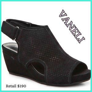 New VANELi suede Ilsa sandal sz9 retail $190